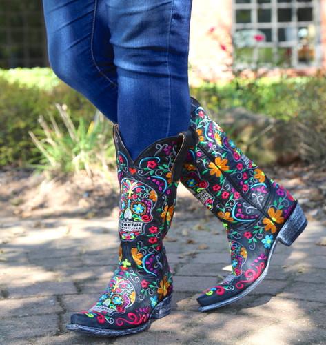 Old Gringo Klak Boots L1300-1 Embroidery