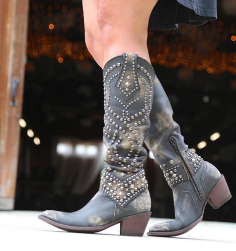 Old Gringo Belinda Beige Boots L903-17 Walk