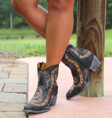 Old Gringo Snake Zipper Boots L1177-1 Image