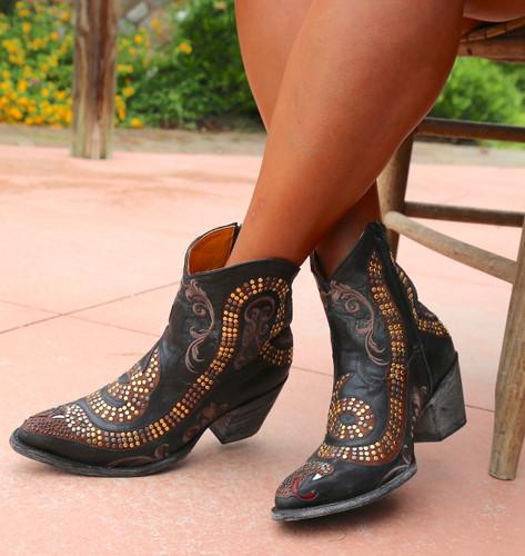 Old Gringo Snake Zipper Boots L1177-1 Photo