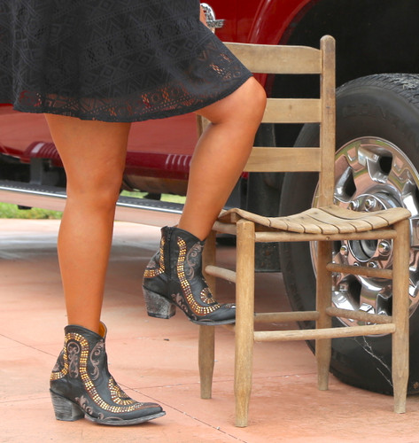 Old Gringo Snake Zipper Boots L1177-1 Dress