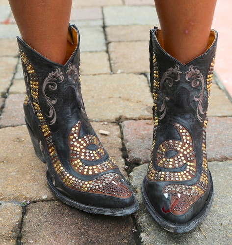 Old Gringo Snake Zipper Boots L1177-1 Picture