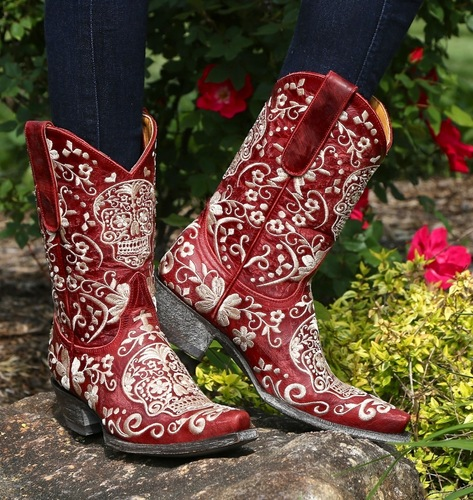 Old Gringo Klak Red Boots L1300-5 Picture