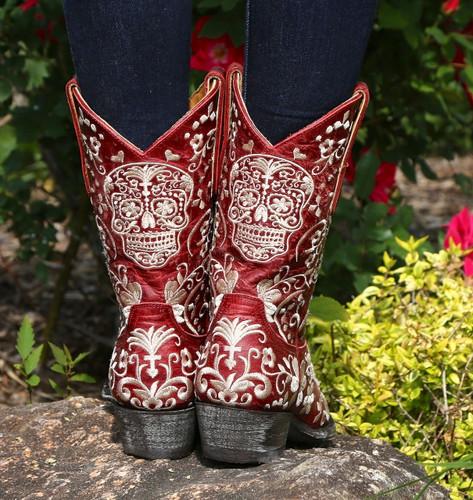 Old Gringo Klak Red Boots L1300-5 Heel