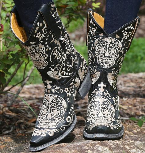Old Gringo Klak Black Boots L1300-4