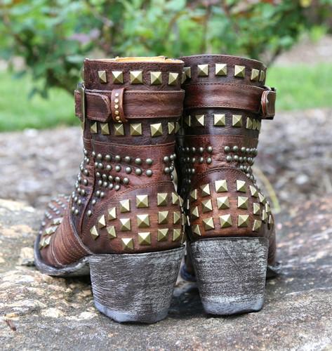 Old Gringo Fontana Brass Boots L1718-2 Heel