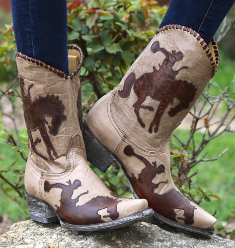 Yippee by Old Gringo Cowboy Up Boots YL091-3 Image