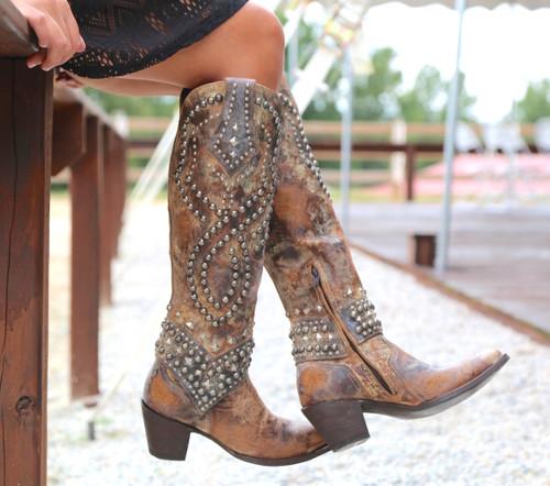 Old Gringo Belinda Tan Boots L903-16 Picture