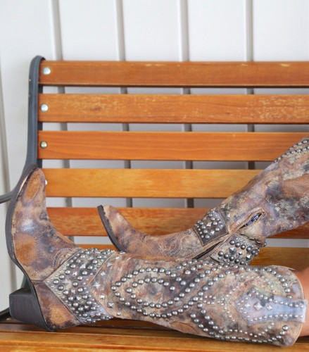 Old Gringo Belinda Tan Boots L903-16 Photo