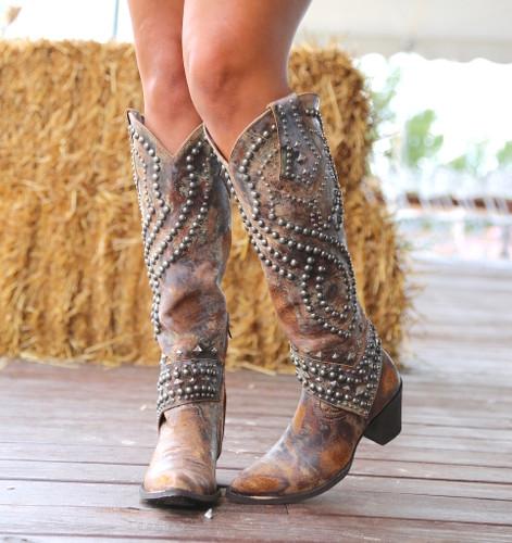 Old Gringo Belinda Tan Boots L903-16 Image