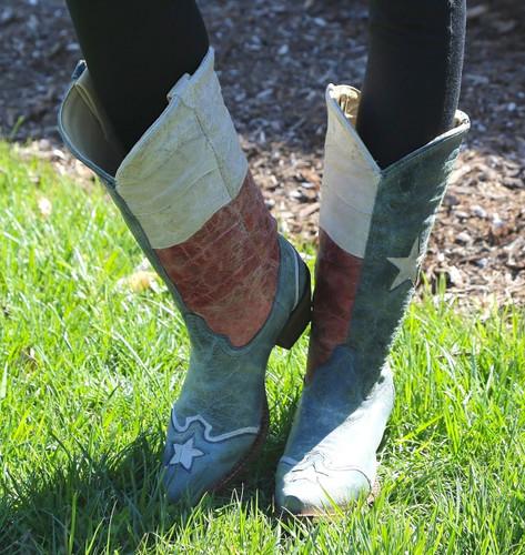 Corral Texas Flag Boots A2518 Image