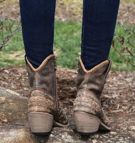 Liberty Black Vintage Canela Boots LB711222