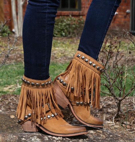 Liberty Black Nubuck Grease Miel Boots LB711213