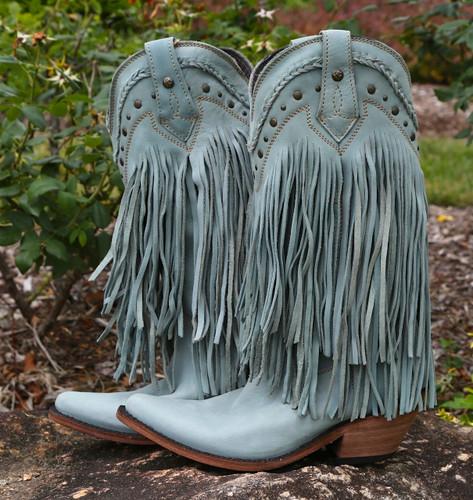 Liberty Black Vegas Fringe Boots Ciel LB71124 Picture