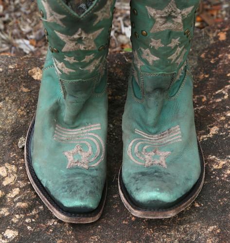 Liberty Black Vegas Turqueza Boots LB711519 Toe