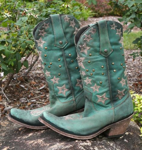 Liberty Black Vegas Turqueza Boots LB711519 Image
