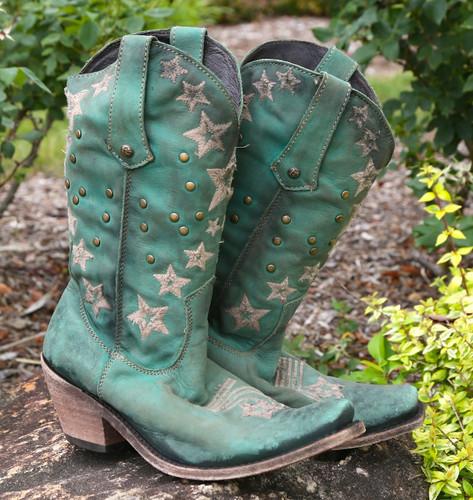 Liberty Black Vegas Turqueza Boots LB711519 Picture
