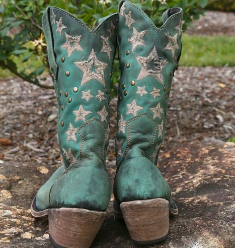Liberty Black Vegas Turqueza Boots LB711519 Heel