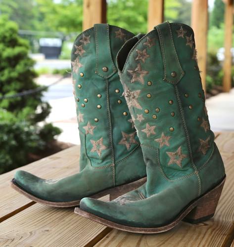 Liberty Black Vegas Turqueza Boots LB711519