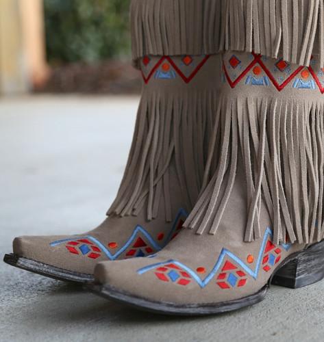Old Gringo Donadora Bone Boots L2258-1 Toe