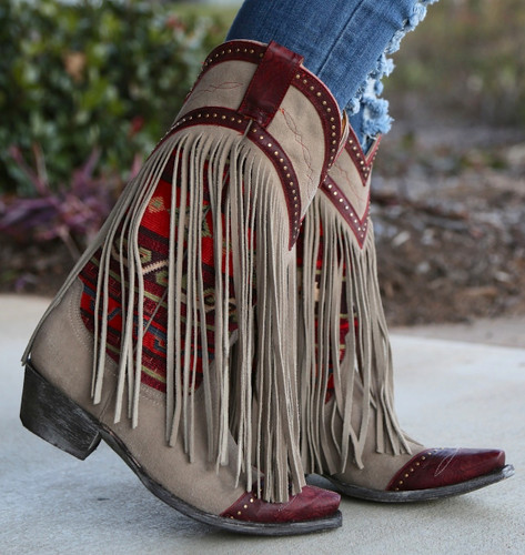Old Gringo Crudge Bone Red Boots L2257-1 Picture
