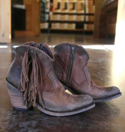 Liberty Black Vegas Faggio Acabado Tambor Boots LB712320 Image