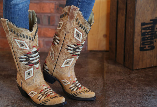 Corral Aztec Pattern E1010 Front