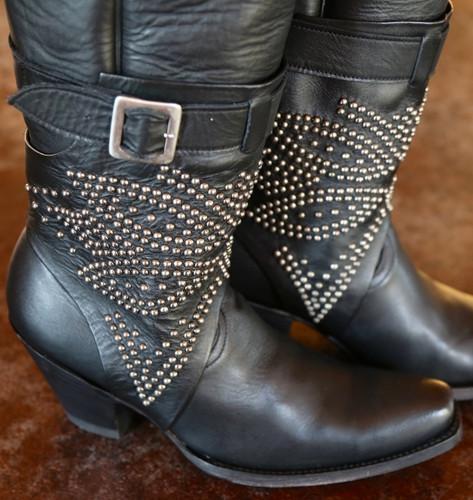 Old Gringo Lola Black Boots L1331-3 Buckle