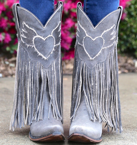 Junk Gypsy by Lane Dreamer Boots JG0004A Toe