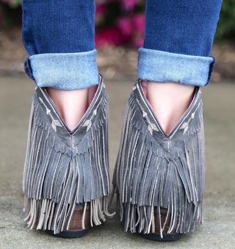 Junk Gypsy by Lane Spitfire Dark Brown Boots JG0007A Heel