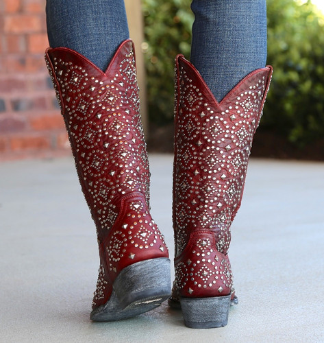 Old Gringo Difama Red Boots L2006-1 Heel