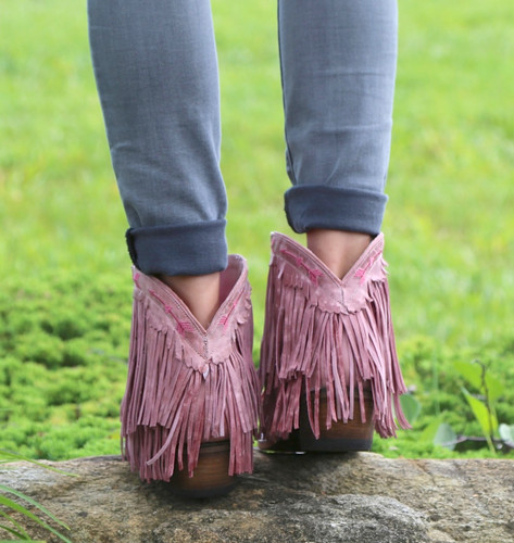 Junk Gypsy by Lane Spitfire Rose Pink Boots JG0007G Heel