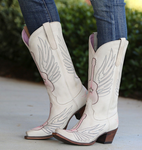 Junk Gypsy by Lane Crossroads Bone Boots JG0002D Image