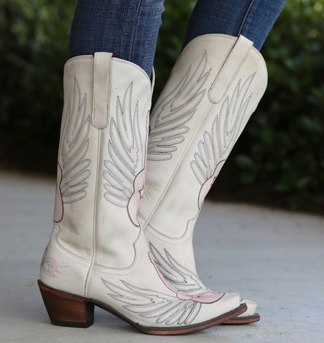 Junk Gypsy by Lane Crossroads Bone Boots JG0002D Side