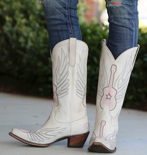 Junk Gypsy by Lane Crossroads Bone Boots JG0002D Front