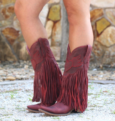 Junk Gypsy by Lane Dreamer Red Boots JG0004E Picture