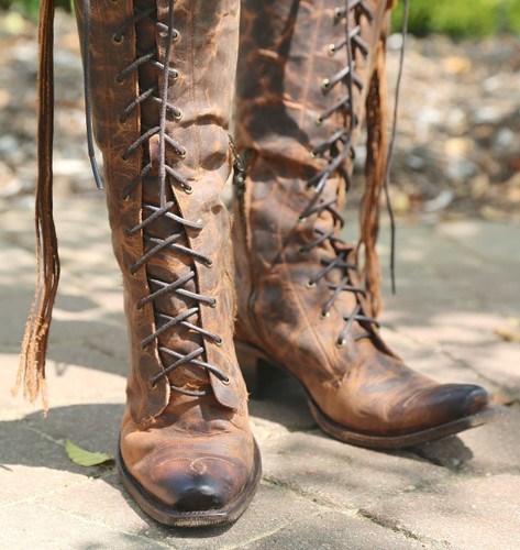Junk Gypsy by Lane Trailblazer Brick-Toned Boots JG0010C Toe