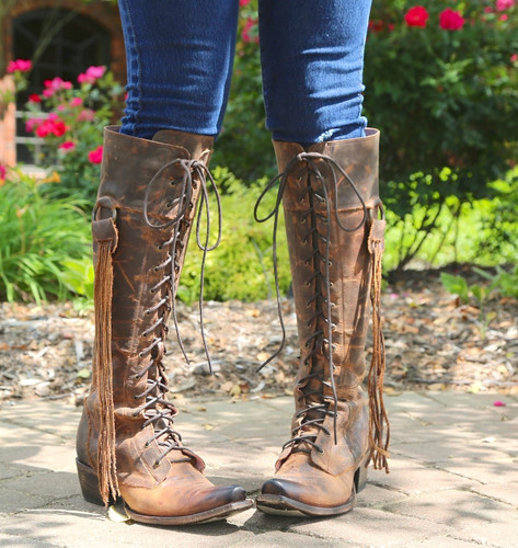 Junk Gypsy by Lane Trailblazer Brick-Toned Boots JG0010C Front