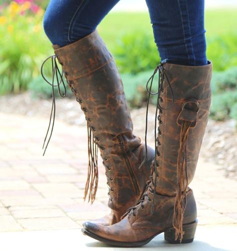 Junk Gypsy by Lane Trailblazer Brick-Toned Boots JG0010C Side