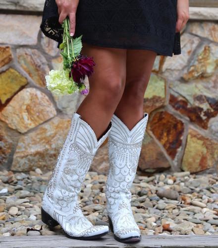 Kippys by Lane Boots Victoria Pearl White - KP0007A Toe