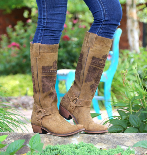 Junk Gypsy by Lane She Who Is Brave Boots JG0006A Side