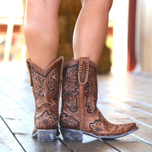Old Gringo Flor De Chale Boots HTL003-31 Heel