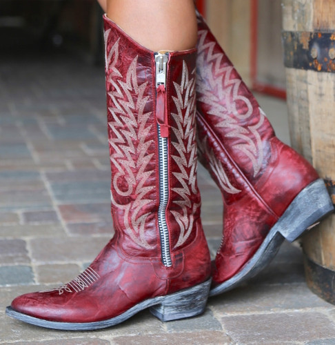 Old Gringo Razz Red Boots L340-117 Side