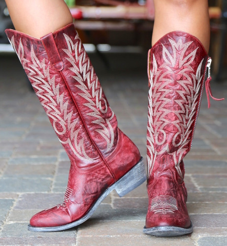 Old Gringo Razz Red Boots L340-117 Image