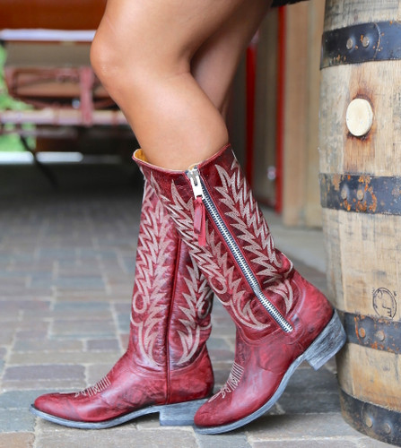 Old Gringo Razz Red Boots L340-117 Picture