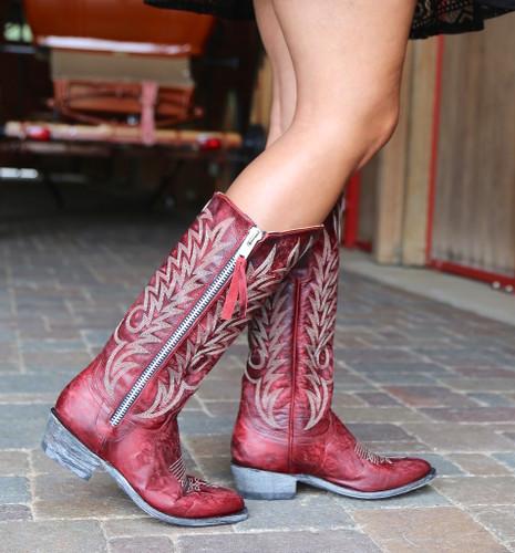 Old Gringo Razz Red Boots L340-117 Walk