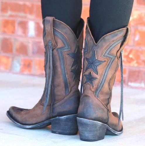 Liberty Black Star Vegas T Moro LB712920 Heel