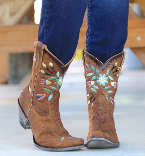 Yippee by Old Gringo Amitola Brass Boots YL188-8 Picture