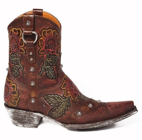 Old Gringo Jazmin Boots L1989-2 Tooling
