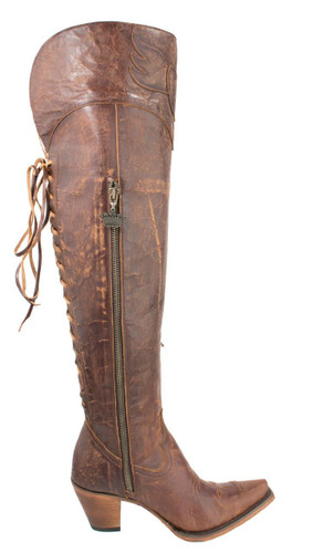 Junk Gypsy by Lane Spirit Animal Brown JG0022A Zipper